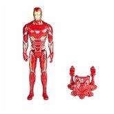 Hasbro E0606100 - Marvel Avengers, Titan Hero Iron Man Actionfigur, mit Power FX Pack