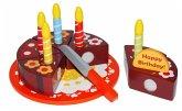 Geburtstagstorte zum Schneiden