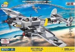 COBI Historical Collection 5538 - Messerschmitt BF 110 C , zweimotoriges Kampfflugzeug, Konstruktionsspielzeug, Bausatz, 370 Teile