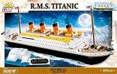 COBI 1914A - R.M.S. Titanic, Bausatz 600 Teile