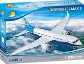 COBI 26175 - BOING 737 MAX 8, Passagierflugzeug, Flugzeug, Bausatz, 320 Teile