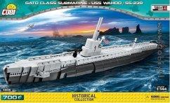 COBI Historical Collection 4806 - Gato Class Submarine-USS WAHOO/SS238, U-Boot, Konstruktionsspielzeug, Bausatz 700 Teile