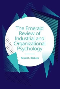 The Emerald Review of Industrial and Organizational Psychology - Dipboye, Robert L.