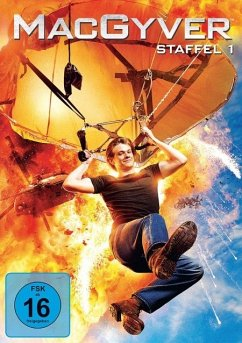 MacGyver - Staffel 1 DVD-Box - Lucas Till,George Eads,Tristin Mays
