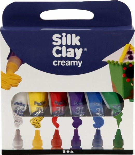 Bastelset Traumwelt mit Einhörner aus Knetmasse mit Foam Clay® und Silk Clay®