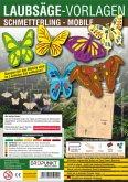 Laubsäge-Vorlagen Schmetterling - Mobile