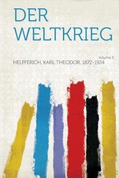 Der Weltkrieg Volume 3