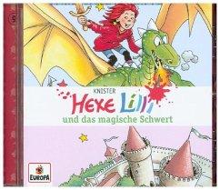 Hexe Lilli und das magische Schwert / Hexe Lilli Bd.9 (1 Audio-CD) - Knister