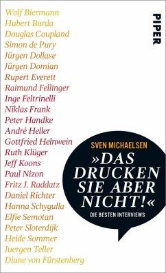 »Das drucken Sie aber nicht!« (eBook, ePUB) - Michaelsen, Sven