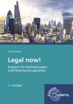 Legal now!, m. Audio-CD - König-Herick, Annette