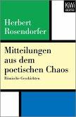 Mitteilungen aus dem poetischen Chaos (eBook, ePUB)