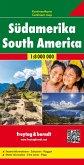 Freytag & Berndt Kontinentkarte Südamerika 1:8 Mio.; South America / Amérique du Sud / Sudamerica