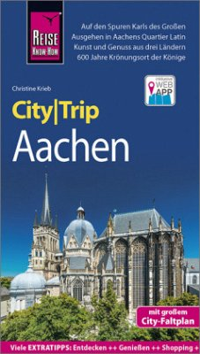Reise Know-How CityTrip Aachen - Krieb, Christine