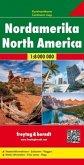 Freytag & Berndt Kontinentkarte Nordamerika 1:8 Mio.; North America / Amerique du Nord / America del Nord / De America d