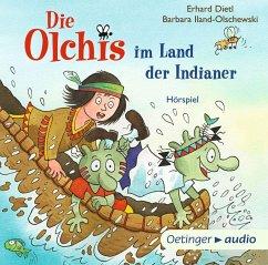 Die Olchis im Land der Indianer / Die Olchis Erstleser Bd.2 (1 Audio-CD) - Dietl, Erhard; Iland-Olschewski, Barbara
