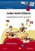 Jeder lernt Gitarre - Liedbegleitung leicht gemacht, m. Audio-CD