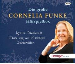 Die große Cornelia Funke-Hörspielbox, 6 Audio-CDs - Funke, Cornelia