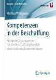 Kompetenzen in der Beschaffung (eBook, PDF)