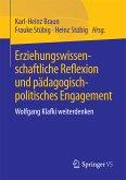Erziehungswissenschaftliche Reflexion und pädagogisch-politisches Engagement (eBook, PDF)