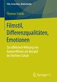 Filmstil, Differenzqualitäten, Emotionen (eBook, PDF)