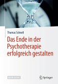 Das Ende in der Psychotherapie erfolgreich gestalten (eBook, PDF)