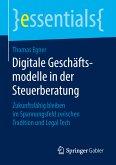 Digitale Geschäftsmodelle in der Steuerberatung (eBook, PDF)