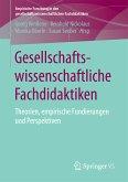 Gesellschaftswissenschaftliche Fachdidaktiken (eBook, PDF)