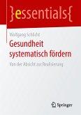 Gesundheit systematisch fördern (eBook, PDF)