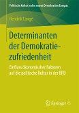 Determinanten der Demokratiezufriedenheit (eBook, PDF)