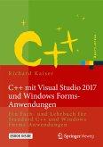 C++ mit Visual Studio 2017 und Windows Forms-Anwendungen (eBook, PDF)