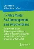 15 Jahre Master Sozialmanagement – eine Zwischenbilanz (eBook, PDF)
