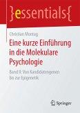 Eine kurze Einführung in die Molekulare Psychologie (eBook, PDF)