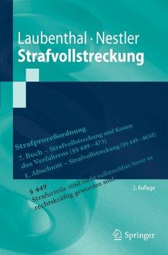 Strafvollstreckung (eBook, PDF) - Laubenthal, Klaus; Nestler, Nina