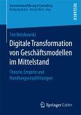 Digitale Transformation von Geschäftsmodellen im Mittelstand (eBook, PDF)