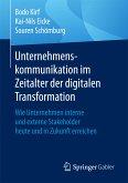 Unternehmenskommunikation im Zeitalter der digitalen Transformation (eBook, PDF)