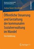 Öffentliche Steuerung und Gestaltung der kommunalen Sozialverwaltung im Wandel (eBook, PDF)