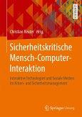 Sicherheitskritische Mensch-Computer-Interaktion (eBook, PDF)