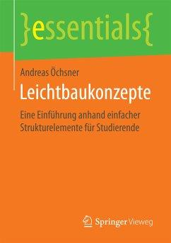 Leichtbaukonzepte (eBook, PDF) - Öchsner, Andreas