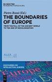 The Boundaries of Europe (eBook, ePUB)