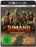 Jumanji: Willkommen im Dschungel - 2 Disc Bluray