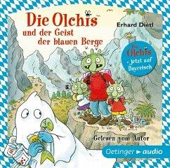 Die Olchis und der Geist der blauen Berge, 1 Audio-CD - Dietl, Erhard