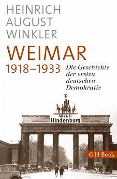 Weimar 1918-1933 - Winkler, Heinrich August