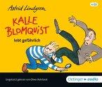 Kalle Blomquist lebt gefährlich, 4 Audio-CDs