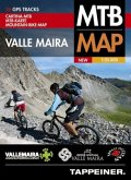 Moutainbike-Karte Valle Maira / Cartina Mountainbike Valle Maira