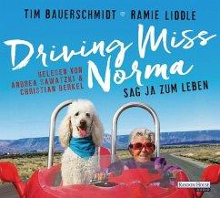 Driving Miss Norma, 5 Audio-CDs (Mängelexemplar) - Bauerschmidt, Tim; Liddle, Ramie