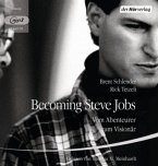 Becoming Steve Jobs, 2 MP3-CDs (Mängelexemplar)