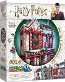 Qualitäts Quidditch Shop & Apotheke - Harry Potter / Quality Quidditch Supplies (Puzzle)