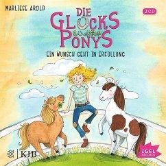 Ein Wunsch geht in Erfüllung / Die Glücksponys Bd.1 (2 Audio-CDs) - Arold, Marliese