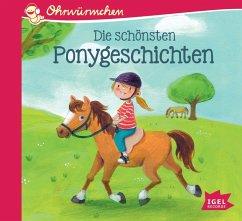 Die schönsten Ponygeschichten, 1 Audio-CD - Vogel, Maja von;Kolloch, Brigitte;Scheffler, Ursel