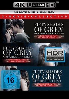 Fifty Shades of Grey - 3 Movie - Collection - 4K - Dakota Johnson,Jamie Dornan,Kim Basinger